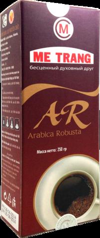Молотый кофе Me Trang Arabica Robusta, 250 гр.