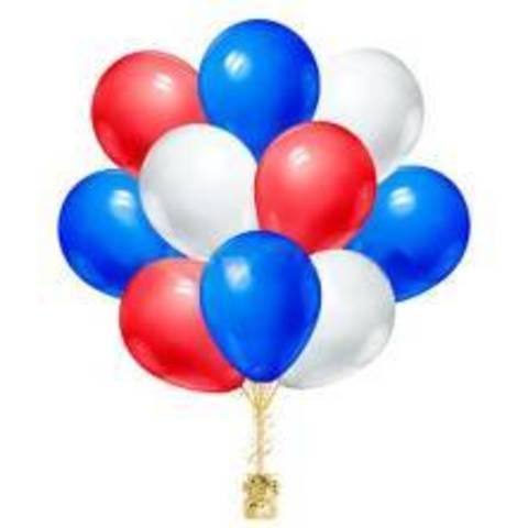 Воздушные шары Триколор