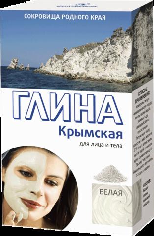 Фитокосметик Сокровища родного края Глина белая Крымская 100г