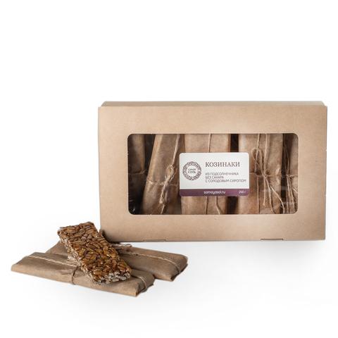 Козинаки без сахара домашние, из подсолнечника, 7-9 пластин, 200 г