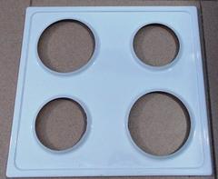 Верхняя варочная панель электроплиты ЗВИ