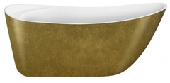 Акриловая ванна Lagard MINOTTI Treasure Gold 170х76 см