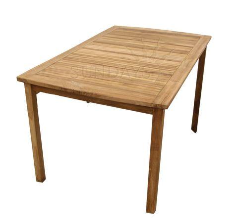 Садовый стол Sundays BALI TGF-165 А, 150*90см, тик