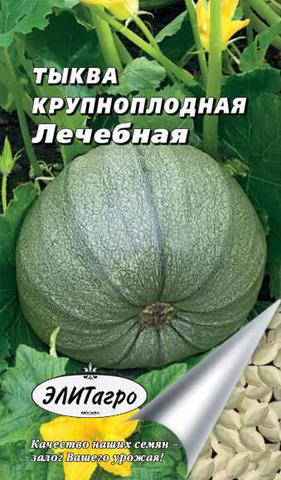 Семена Тыква крупноплодная Лечебная