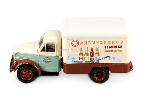 GAZ-51 Van advertising Beer 1953 DIP 1:43