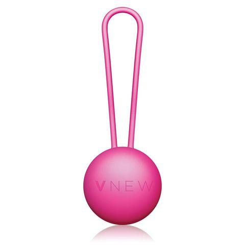 Розовый вагинальный шарик VNEW level 1