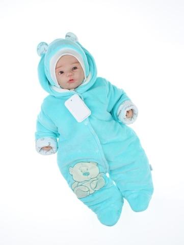 Комбинезон для новорождённого c шапкой Умка