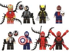 Минифигурки Супергерои и Суперзлодеи серия 242