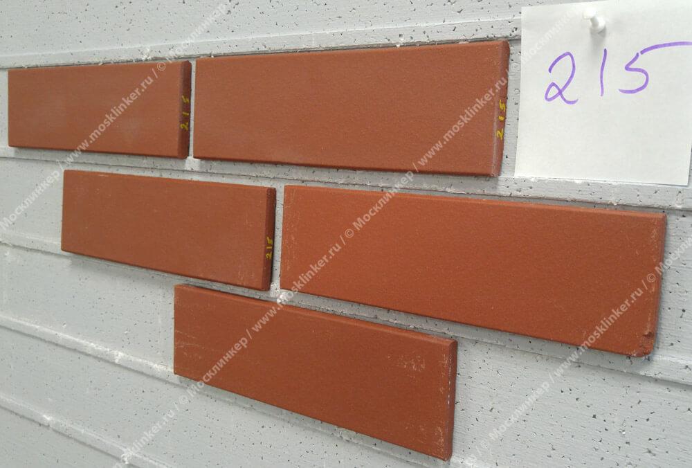 Stroeher - 215 patrizienrot, Keravette, unglasiert, неглазурованная, гладкая, 240x71x11 - Клинкерная плитка для фасада и внутренней отделки