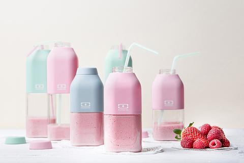 Бутылка Monbento Positive (0,33 литра), розовая