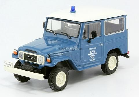 Toyota Land Cruiser FJ40 Greece 1:43 DeAgostini World's Police Car #18