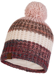 Шапка вязаная с флисом Buff Hat Knitted Polar Alina Blossom Red