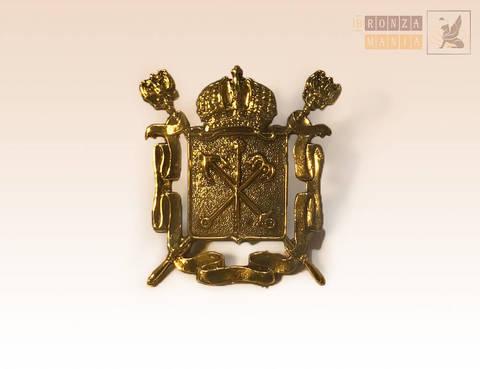значок герб Санкт-Петербурга