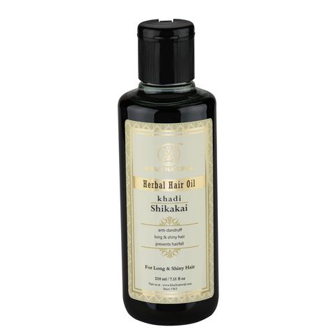 """""""Шикакай"""" восстанавливающее масло для сухих волос Khadi Natural, 210 мл"""