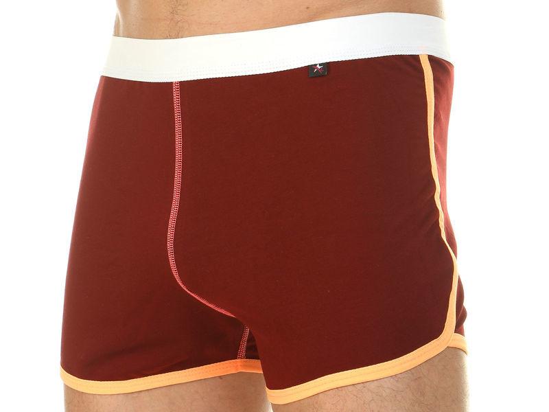 Мужские шорты домашние бордовые Van Baam 39848
