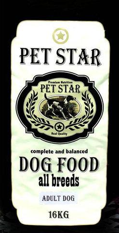PET STAR Adult Dog Для взрослых собак всех пород 16 кг.