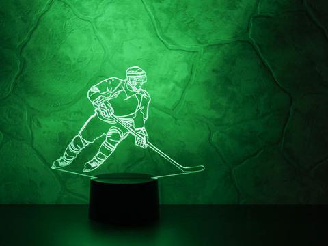 3D лампа Хоккеист - Нападающий