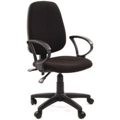 Кресло офисное Easy Chair 318 AL черное (ткань/пластик)