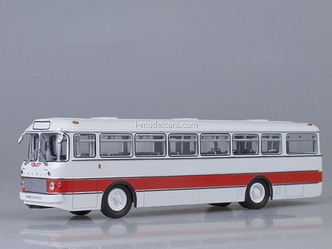 Ikarus-556 white-red Soviet Bus 1:43