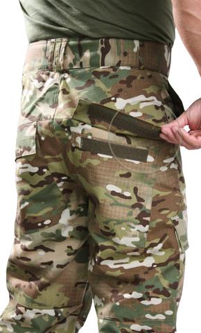 Брюки камуфляжные НАТО Мультикам ткань Рип стоп