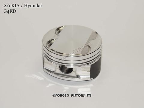 Поршни СТИ KIA, Hyundai 2,0 G4KD, G4NA под кольца 1,2/1,2/2,0