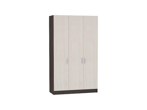 Шкаф трехстворчатый Бася ШК-554 Браво Мебель венге, дуб белфорд