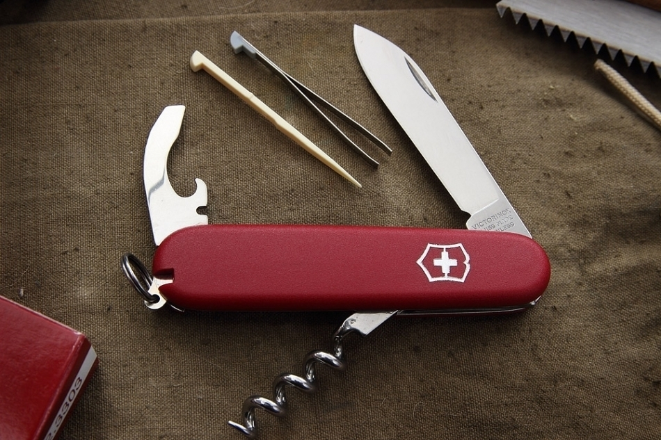 Швейцарский нож Victorinox Waiter EcoLine 2.3303 - Wenger-Victorinox.Ru
