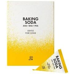 Скраб для лица содовый - набор J:ON  Baking Soda Gentle Pore Scrub, 20 шт * 5гр