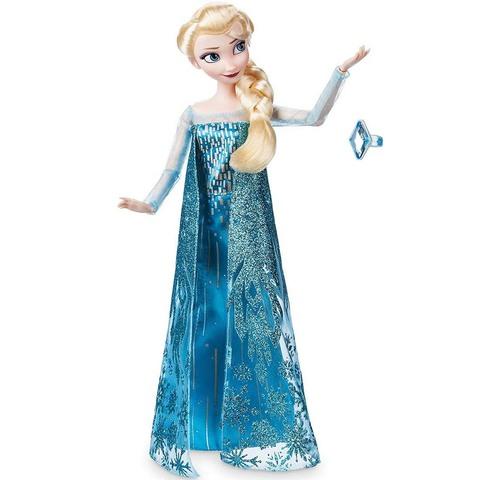 Дисней Холодное сердце Эльза классическая кукла 30 см с кольцом
