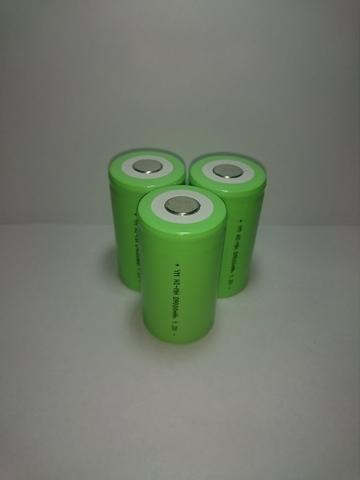 Аккумулятор D (R20) Ni-Mh 9000mAh 1,2V 10,8Wh