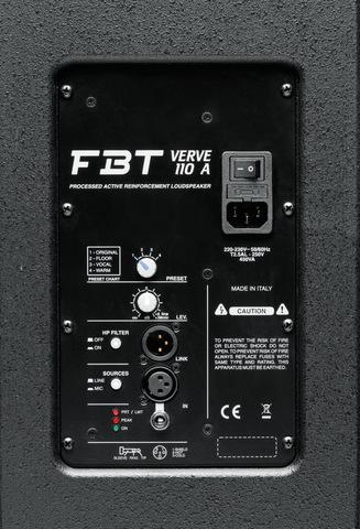 Акустические системы активные FBT Verve 110A