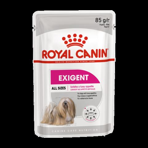 Royal Canin Exigent Care Консервы для взрослых собак привередливых в питании, Паштет