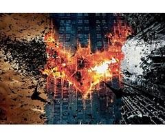 Постер Арт Бэтмен Тёмный рыцарь — Poster Art Batman The Dark Knight