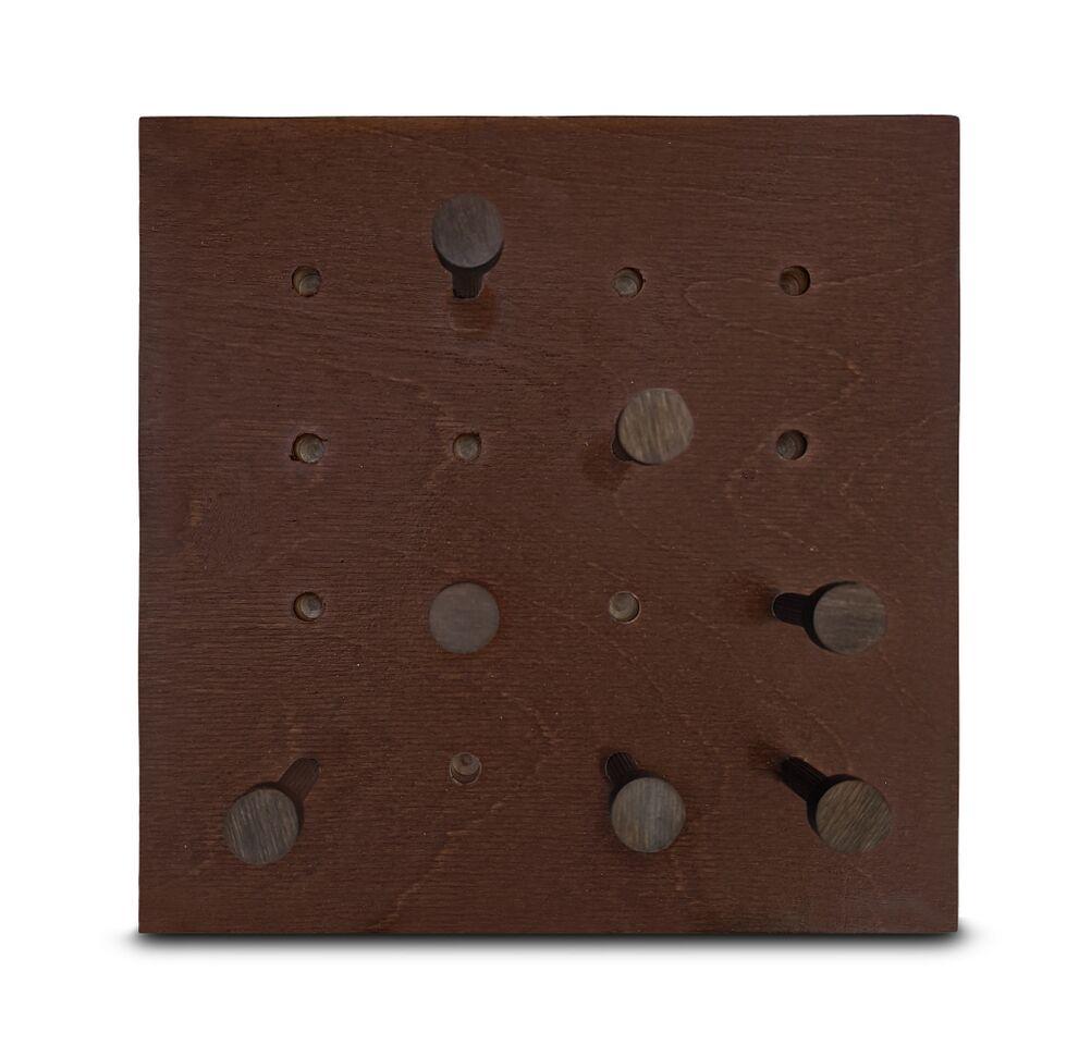 Модуль с грибочками 220Х220 см, каштановый