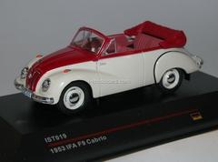 IFA F9 Cabrio white-red 1953 IST019 IST Models 1:43