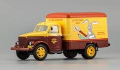 GAZ-51 Van advertising Children's perfumes 1953 DIP 1:43