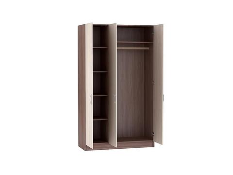 Шкаф трехстворчатый Бася ШК-554 Браво Мебель ясень шимо