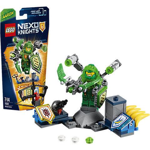 LEGO Nexo Knights: Аарон – Абсолютная сила 70332 — Ultimate Aaron — Лего Нексо Рыцари