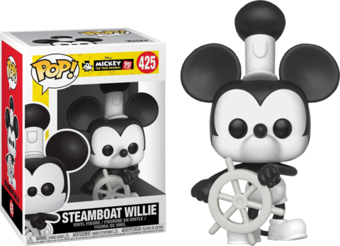 Steamboat Willie Funko Pop! Vinyl Figure || Пароходик Вилли