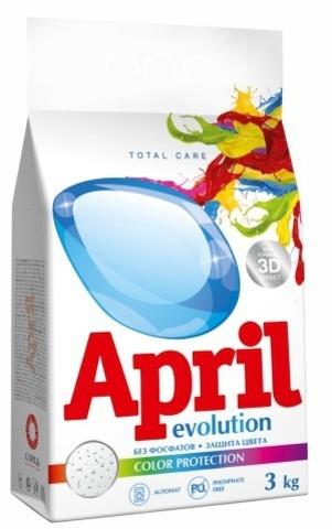 Сонца April Стиральный порошок Evolution color protection Автомат 3кг