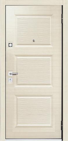 Дверь входная Бульдорс Mastino Line 2 стальная, темный венге, 2 замка