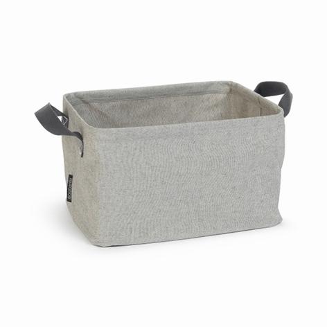 Складная корзина для белья (35 л), Серый, арт. 105685 - фото 1