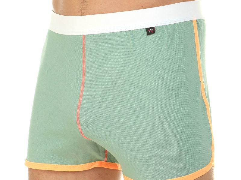 Мужские шорты домашние фисташковые Van Baam 39842