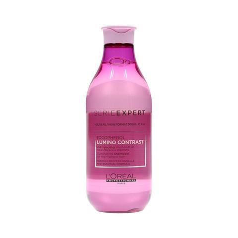 Шампунь-сияние для мелированных волос, L'Оreal Serie Expert Lumino Contrast Shampoo, 300 мл.