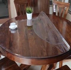 Скатерть круглая прозрачная  110 см. 2 мм.