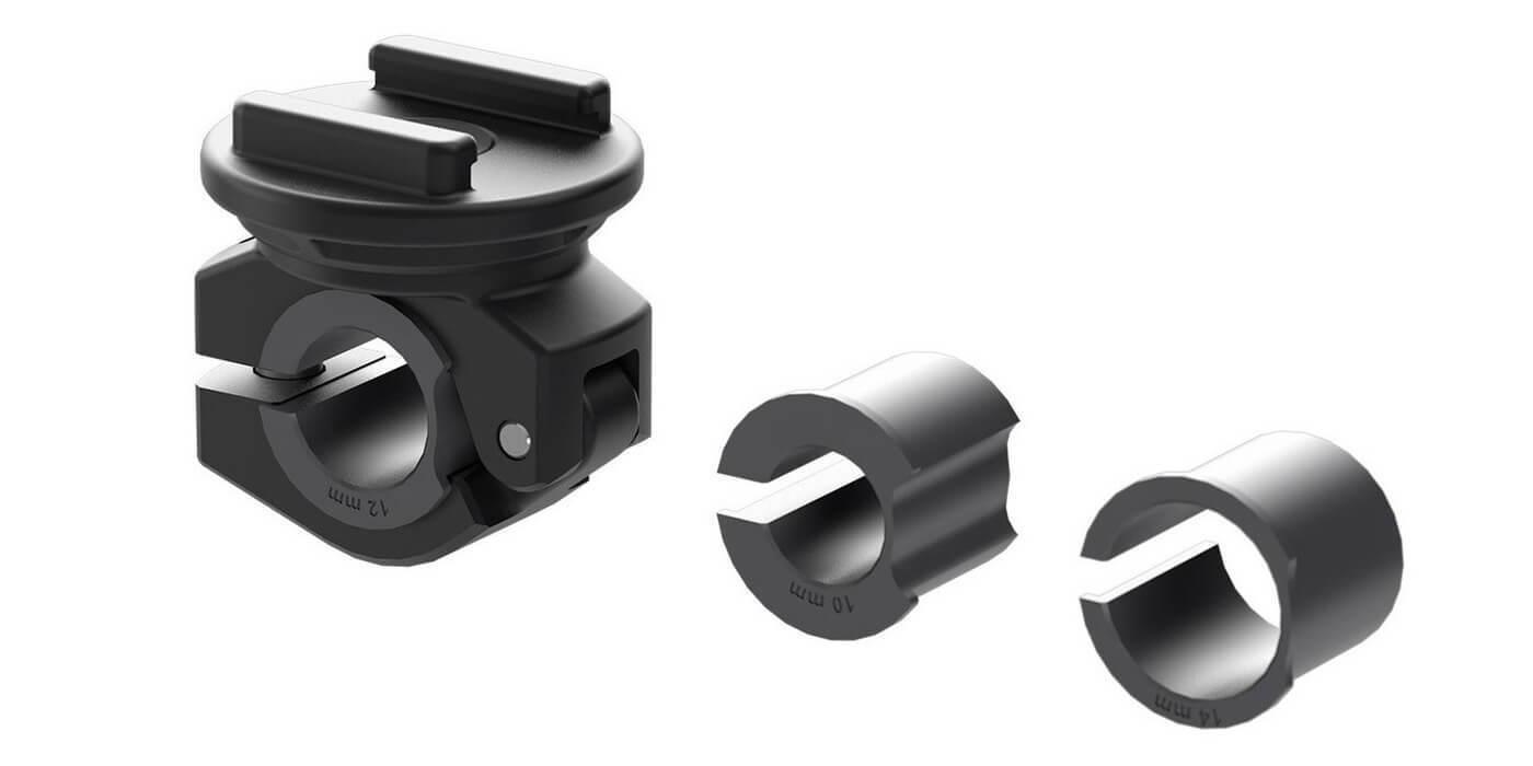 Набор креплений для смартфона на мотоцикл SP Connect Moto Mirror Bundle Universal комплетация