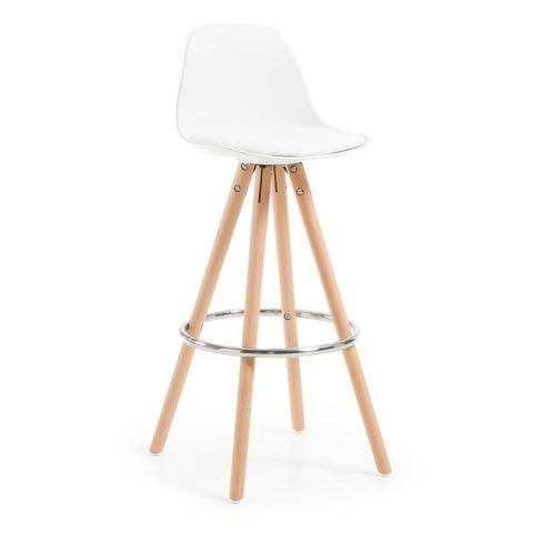 Барный стул Stag белый