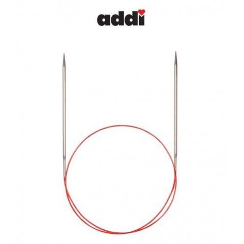 Спицы Addi круговые с удлиненным кончиком для тонкой пряжи 60 см, 2 мм