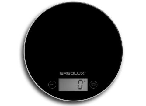 Весы кухонные Ergolux ELX-SK03-С02 черный