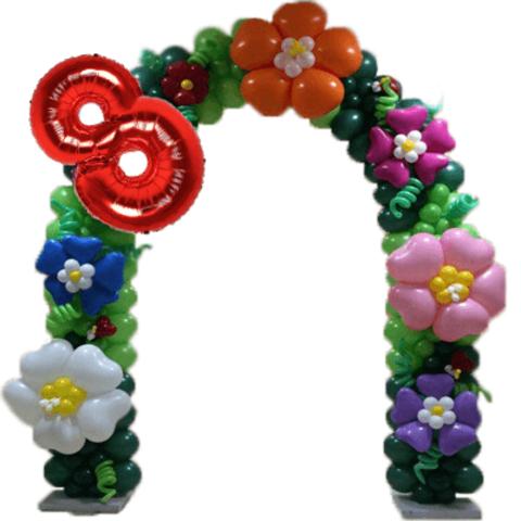 Арка Цветы на праздник